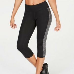Small Ideology Cropped Colorblock Leggings